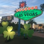 Here's a sign that Las Vegas is going green for St. Paddy's Day!