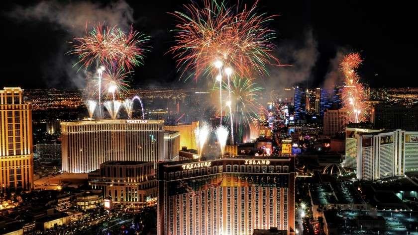 New Year's Eve Las Vegas Club de Soleil Vacation Resort